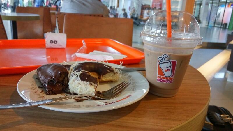 Dunkin donut bandara syamsuddin noor banjarbaru