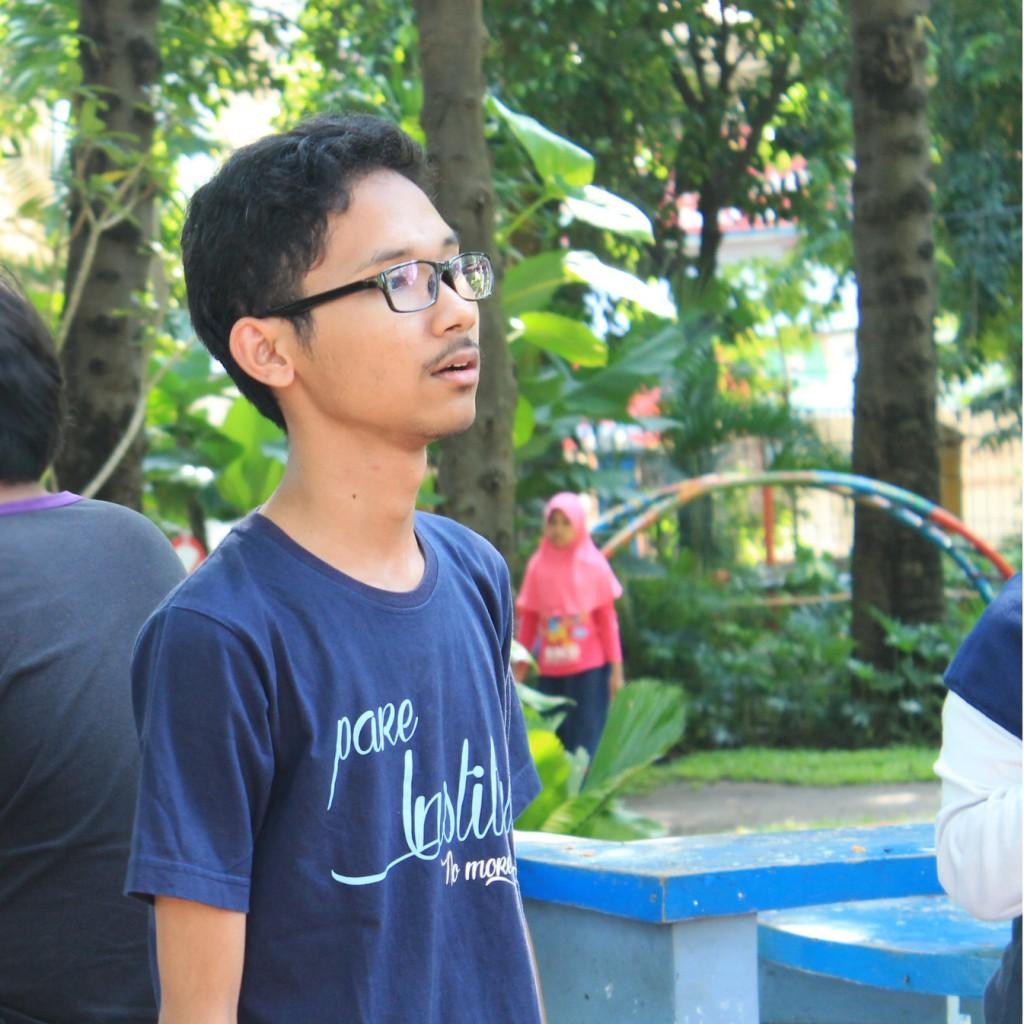 Foto candid saat Upgrading ITS Online di Taman Prestasi, Surabaya