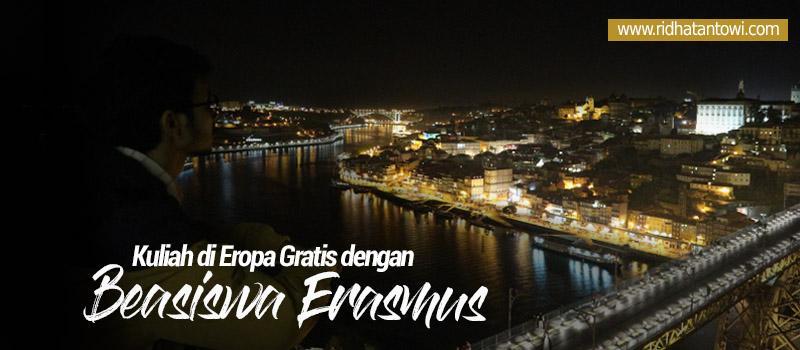 Kuliah Gratis di Eropa dengan Beasiswa Erasmus